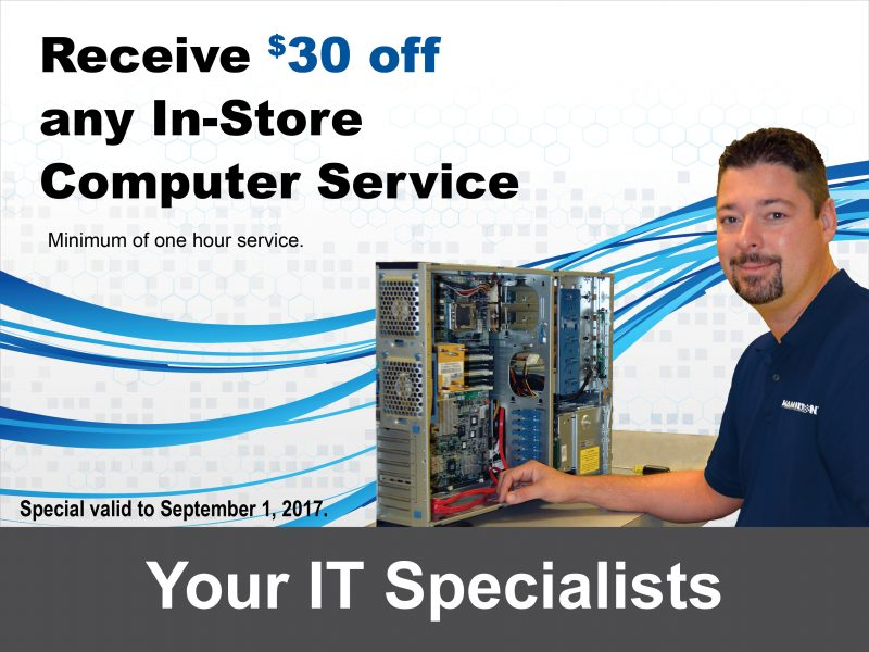 $30 off computer service