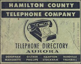 History / Timeline – Hamilton Telecommunications • Aurora, NE